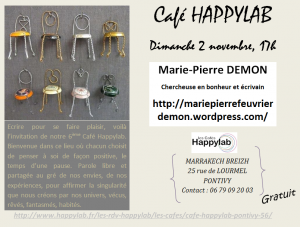 Invitation Happylab 2 novembre