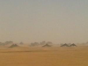 Le campement nomade du festival sous le vent de sabl