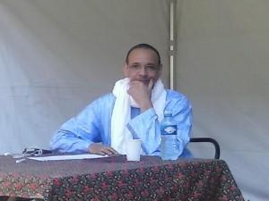 Manny Ansar lors de la 1ère édition du Festival La croisée des chemins