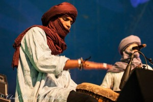 Mohamed, concert d'ouverture de la Caravane, Roots Festival