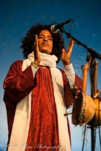 Khalifa sur la scène de Roots Festival à Amsterdam