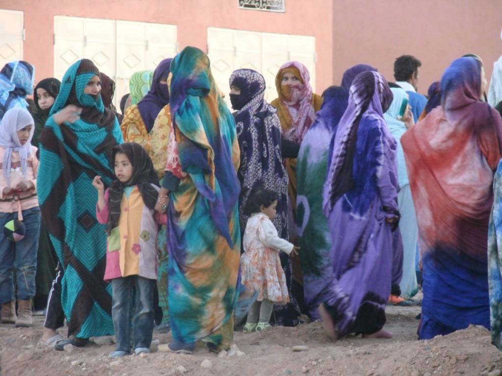 Femmes de M'Hamid au Festival, Edition 2011 © S. Coulaud