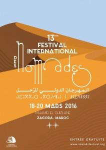 Affiche Festival des Nomades 2016