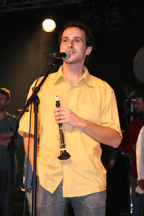 Romain Sponnagel au festival Bombarde et compagnie