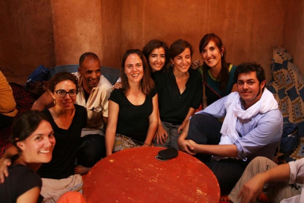 Les encadrants, bénévoles, vivent  chaque atelier comme un partage d'expérience et l'opportunité de belles rencontres avec les habitants de l'oasis