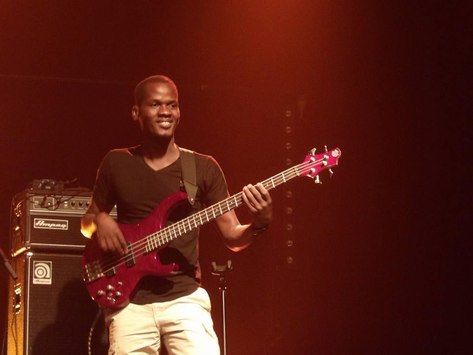 A Saint-Malo, Jonathan Dembele donne son tout premier concert en France, mais pas en Europe.