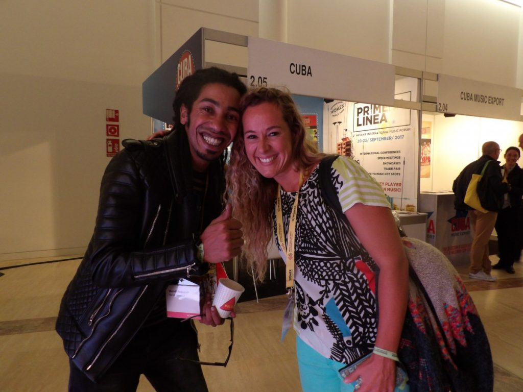 EToile montante de la scène marocanie, Mehdi Nassouli rencontre Lydia Botana, artiste galicienne