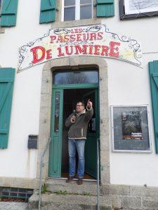 Michel Dupuy, organisateur de festival comblé par le succès de la proposition, résolument engagée.
